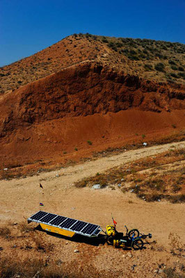 IR: Solatrike in der Wüste