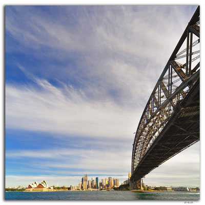AU1598.Sydney.Opera House + Harbour Bridge