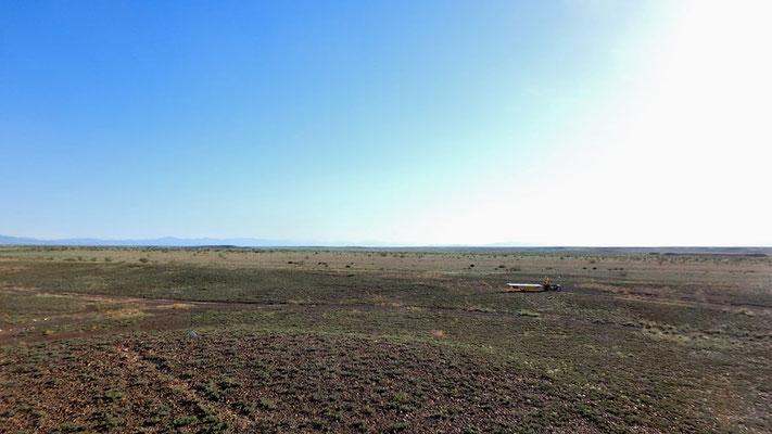 Solatrike.KZ.mitten in der Landschaft / in the middle of nowhere