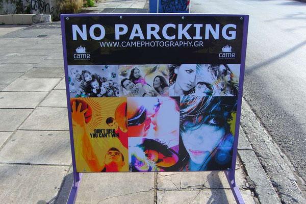 Griechenland.No Parcking