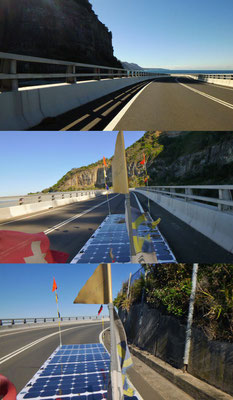 AU: Solatrike auf Sea Cliff Bridge