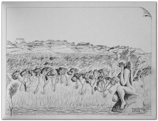192.Skizze.Ragged Range.Australia