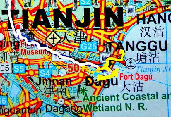 Tag 269:  Tanggu 塘沽 - Harbour