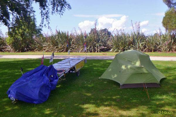 NZ: Solatrike in Wyndham Camping