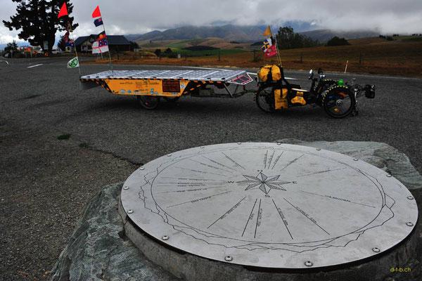 NZ: Solatrike bei Mt. Michael