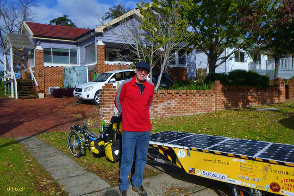 AU: Solatrike in Nowra mit Host Don