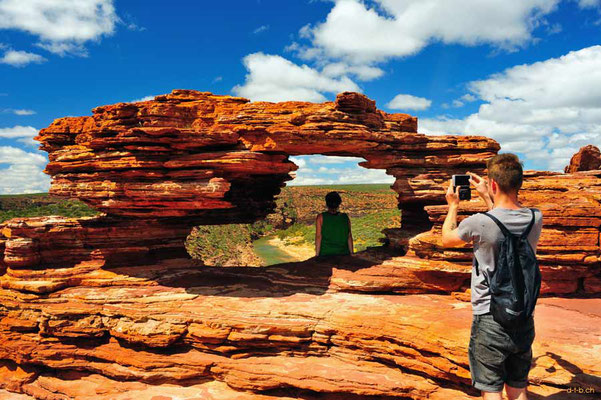 Australien.Kalbarri N.P. Nature's Window