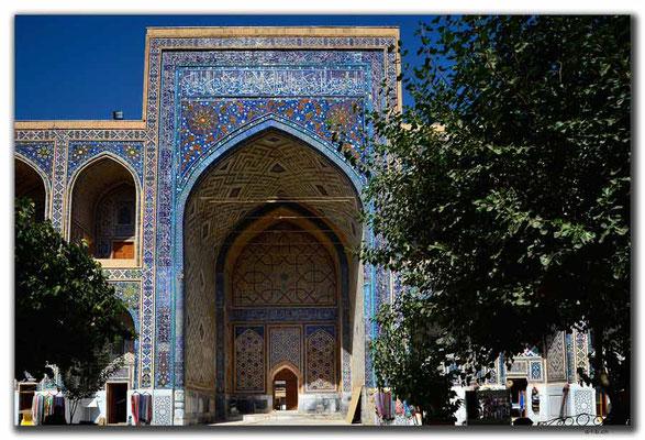 UZ0072.Samarkand.Registan.Ulugbek Medressa