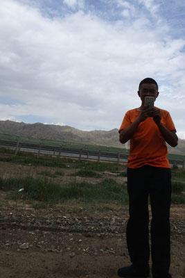 China,LKW-Fahrer