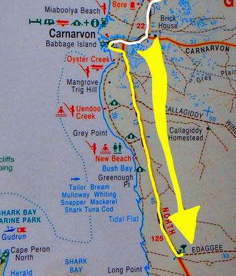 Tag 333: Carnarvon - Edaggee R.A.