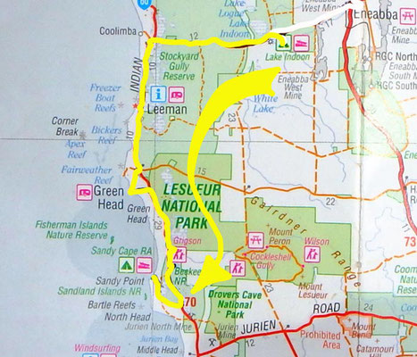 Tag 348: Lake Indoon - Sandy Cape
