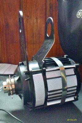NZ: Solatrike neuer Vordermotor mit Montageblechen