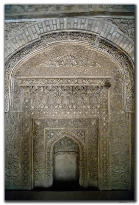 IR0172.Isfahan.Jame Mosque.Ilkhanid Merhab