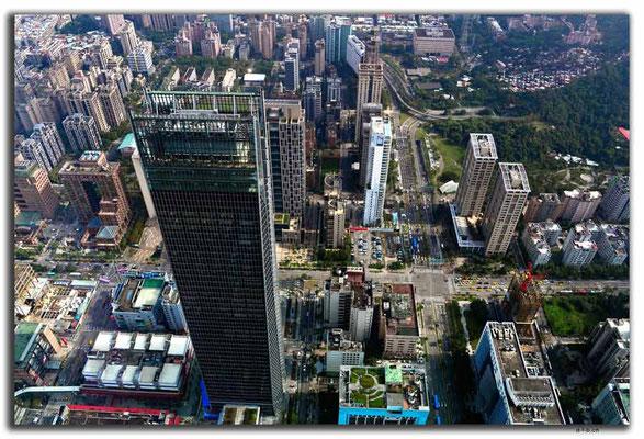 TW0007.Taipei.Hochhaus von oben
