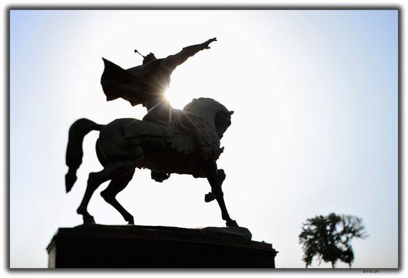 UZ0225.Tashkent.Amir Temur Statue