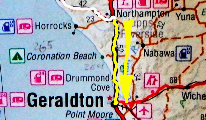 Tag 344: Northampton - Geraldton