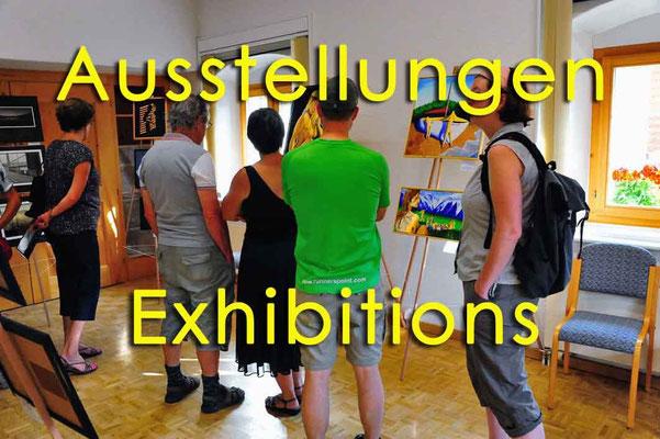 Ausstellungen / Exhibitions