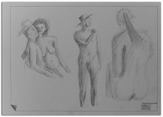 217.Skizze.Life drawing course2.Melbourne.Australia