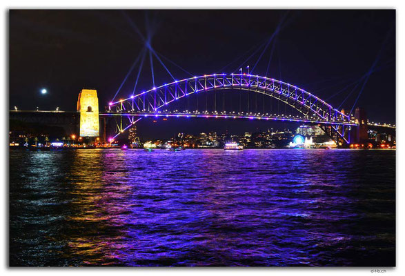 AU1566.Sydney.Vivid.Harbour Bridge