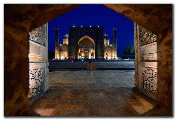 UZ0044.Samarkand.Registan.Sher Dor Medressa
