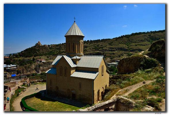 GE0119.Tbilisi.Kirche in der Festung