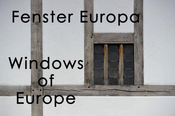 Fotogalerie Fenster Europa / Photogallery Windows of Europe