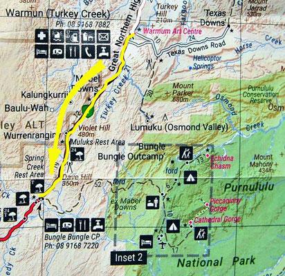 Tag 301: Warmun - Spring Creek