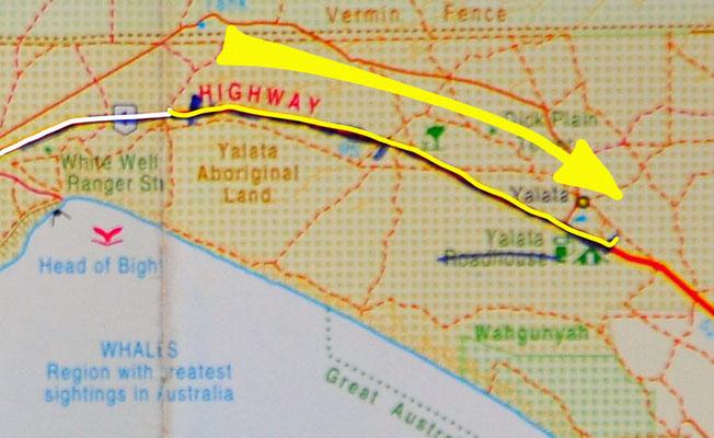 Tag 387: 222 km peg - Yalata East R.A.