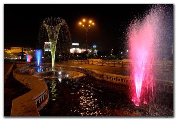 RO0214.Bukarest.Springbrunnen