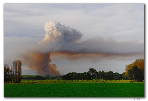 AU1470.Bushfire near Orbost