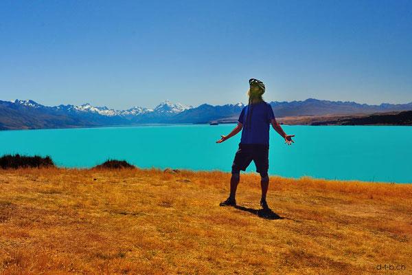 Neuseeland.Lake Pukaki