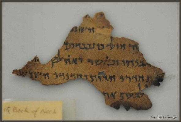 JO080.Qumran Schriftstück.Amman