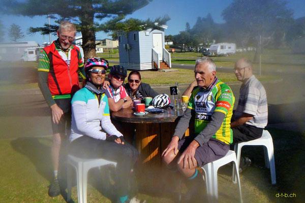Peter und der Blind Tandem Club Wollongong, Australien
