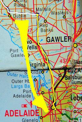Tag 408: Mallala - Adelaide
