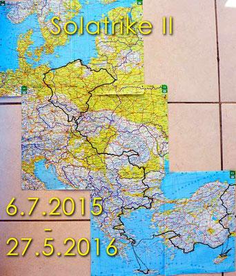 TR: Die Strecke des Solatrike bis Samsun