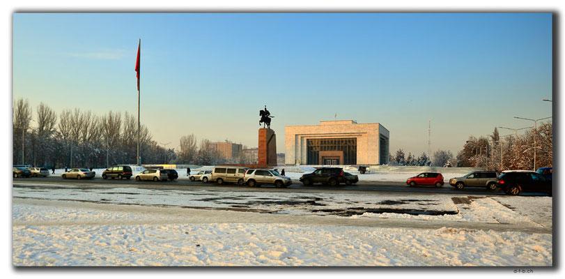 KG0170.Bishkek.Ala-Too Square