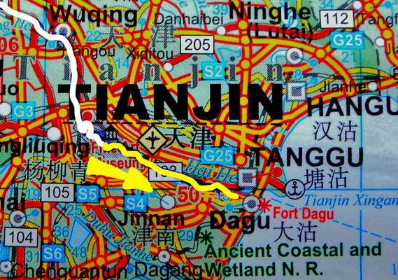 Tag 268:  Tianjin 天津市 (Hexi 河西区) -  Tanggu 塘沽