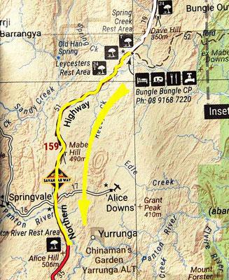 Tag 302: Spring Creek - Little Panton River