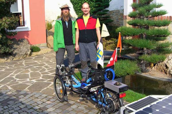 CZ: Solatrike in Uhreský Brod, Honza Galla von AZUB Bikes