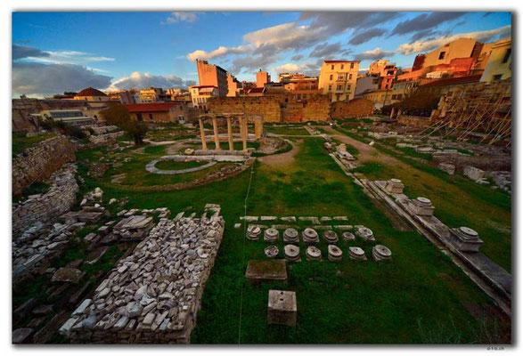 GR0396.Athen.Hadrians Bibliothek