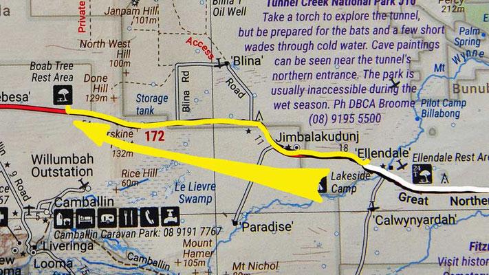 Tag 309: Ellendale Lake - Boab Tree R.A.