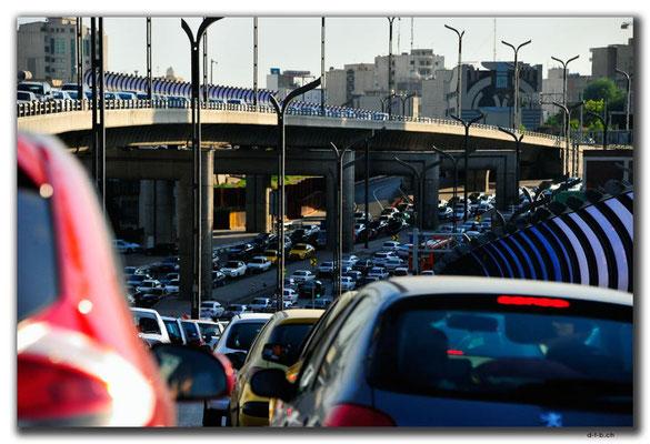 Verkehrschaos in Teheran