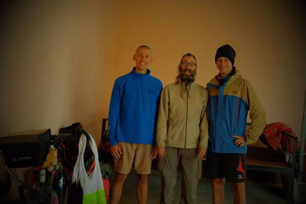 UZ: Yallama mit Richard und Alex (Foto: Alex)