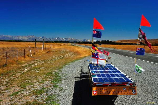 NZ: Solatrike auf Burkes Pass