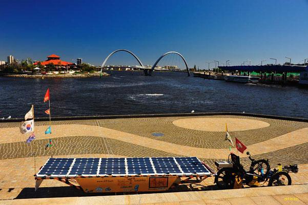 AU:Solatrike at Perth, Elizabeth Quay