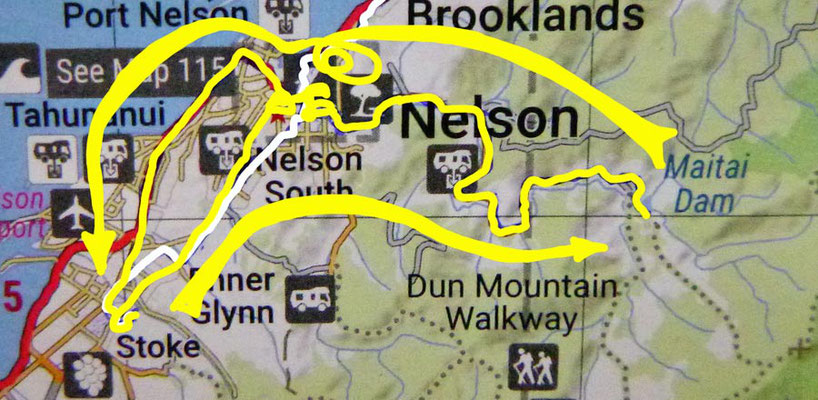 Tag 495: Nelson - Maitai Valley - Nelson