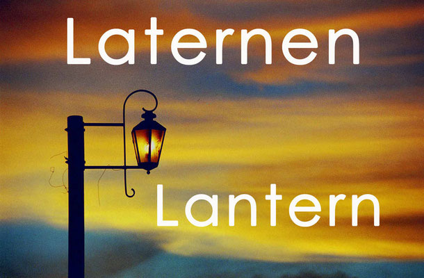 Fotogalerie Laternen / Lanterns, Photogallery