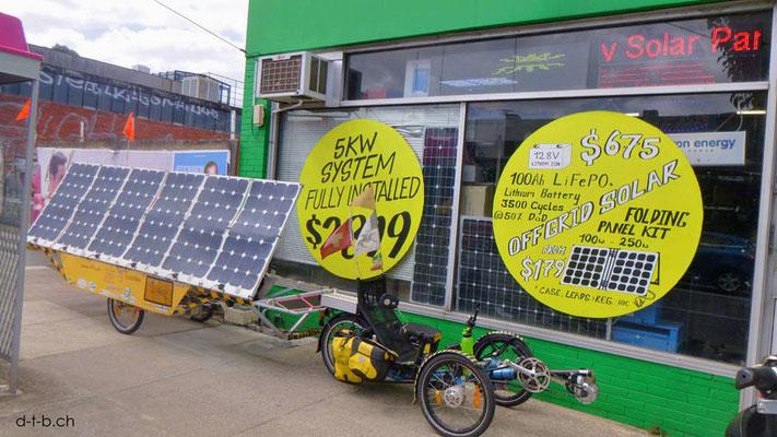 AU: Solatrike bei Solarfirma Low Energy