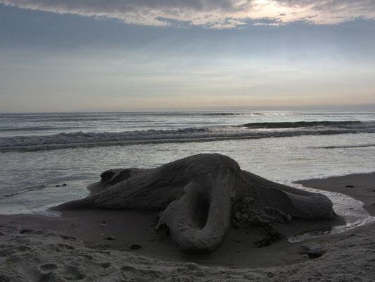 Sandfigur,Nixe
