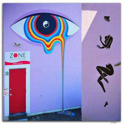 NZ0341.Taupo Streetart by Gina Kiel